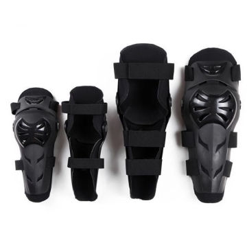 4 pcs / ensemble moto protection coude genou protection équitation genou gardes en plein air sport racing équipement de protection