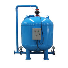 PLC Control Automatic Back Wash Quartz Sand Filter