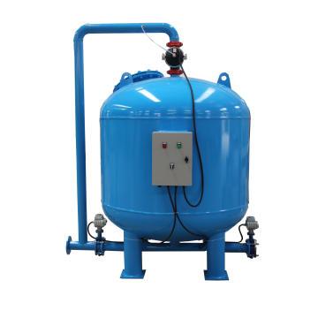 O PLC controla o filtro de areia automático de quartzo da lavagem traseira