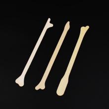 Disposable medical wooden cervical scraper