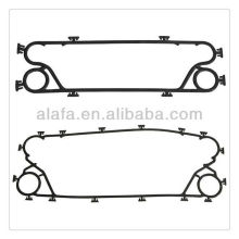 high temperature gasket ,clip on epdm gasket for heat exchanger
