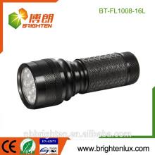 Factory Supply Cheap Aluminium 16 Led Mini torche Cadeau super brillant lampe de poche led