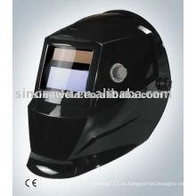 Solar auto-oscurecimiento casco de soldadura casco de soldadura MD0404