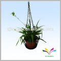 China supplier own factory house garden wire metal hanging flower pot rack