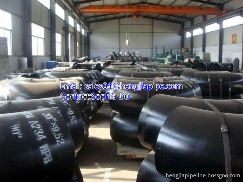 long radius seamless pipe elbow