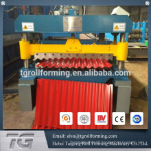 Metal embossing machine corrugated sheet metal machine