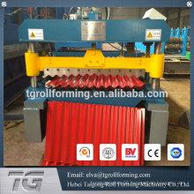 Metal embossing machine corrugated sheet metal machine