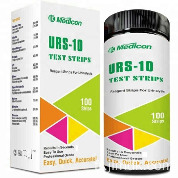 Bandelettes de test d'urine Medicon 10Parameters
