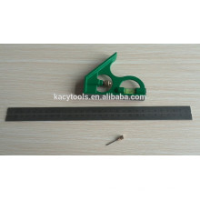Régua de ângulo de combinação de aço, régua quadrada de metal, ângulo de combinação de aço 61022