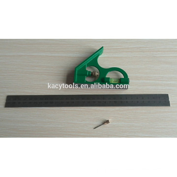 steel combination angle ruler, metal square ruler, Steel combination angle 61022