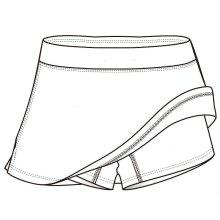 Короткие брюки для тенниса для женщин