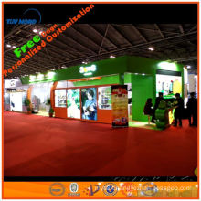 Hire wooden exhibition booth with all exhibition display equipment on leasing in shanghai