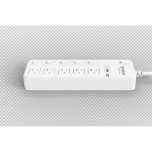 ORICO SPC-S5U2 EE.UU. Socket Power Strip 5 AC 2 USB Surge Protector