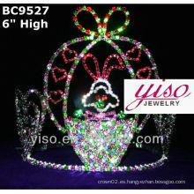Coronas de cristal de pascua