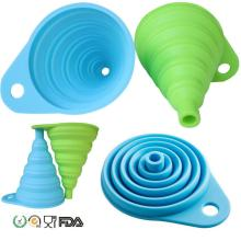 Folding Funnel for Liquid Transfer  Collapsible Funnel