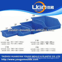 zhejiang taizhou vegetables container mould supplier and 2013 New household plastic injection tool box mouldyougo mould