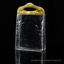 Novos produtos quentes limpar saco de pvc cosmético
