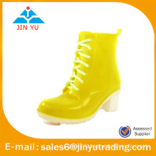 fashion colourful ladies rain boots
