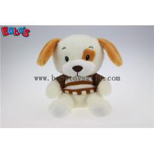 Atacado super macio cão de pelúcia animal brinquedo com t-shirt Bos1182