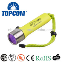 LED de buceo uv submarina linterna linterna de alta potencia