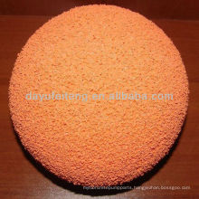 Sany Concrete pump cleaning sponge ball for concrete pump pipe
