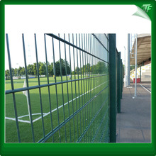 2018 Galvanized  double wire fence