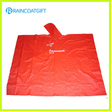 Custom Logo Brand PVC Rain Poncho for Promotion