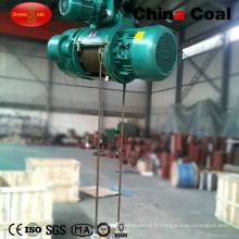 Chine Suppiy 0.5t-20t Europe Mini grue électrique de câble métallique Prix