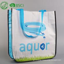 Reusable pp woven shopping tote bag
