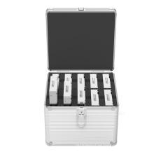 """Caja del protector de HDD de Orico para 10 PC 3.5 """"HDD y SSD, caja de la cubierta de HDD"""