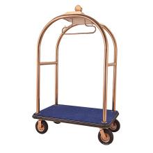 Nuevo diseño Rose Gold Handcart de acero inoxidable (DF66)