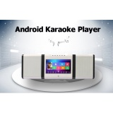 2017 new type Portable karaoke machine and dvd player with two professional speakers
