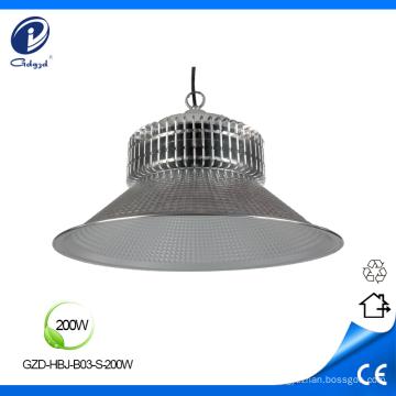 Alta lumen grande poder 200 W alta bay light