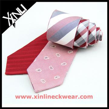 Reversible Ties in Pure Silk Paisley Striped Just for Men