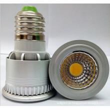 Factoy Venda COB 5W JDR E27 LED Spotlight