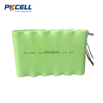 Batterie rechargeable NI-MH 14.4V SC3000mAh
