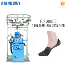 Fashionable sock weaving embroidery knitting machinery for making invisible socks