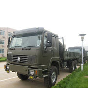 China Howo 6x6 Off-road Lorry Truck