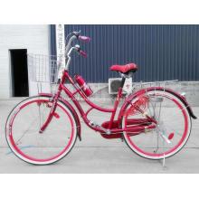 Mais populares económica tipo Europa senhora cidade bicicleta