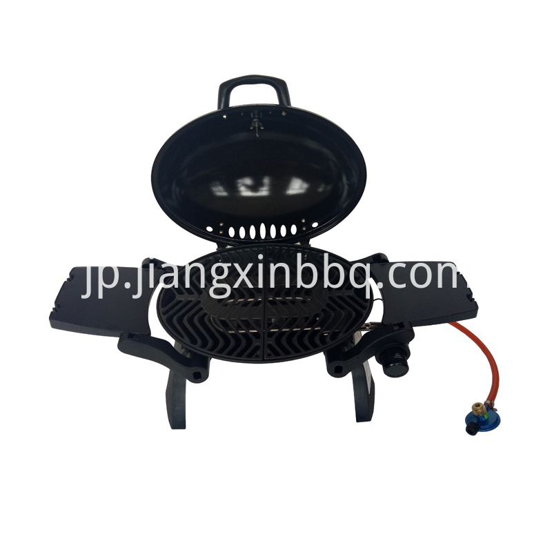 Portable BBQ Gas Grill Exposed View