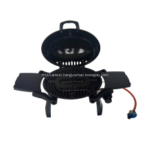 Portable Gas Grill With Cast Iron Grid