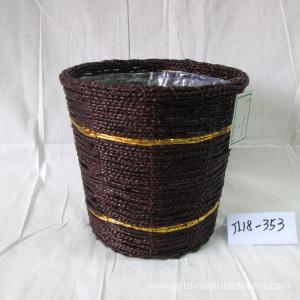 Natural Sea Grass Flower Pot