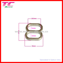 10.5mm Bra Metal Slider Buckle