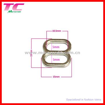 10.5mm Bra Metal Slider Hebilla