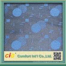 Mode nouvelle conception assez utile jacquard tissu polyester pour bus et couvre siege de voiture