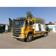 4x2 low flatbed truck Construction machinery