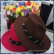 Hot promotion unique design à la mode chapeau femme avec bon prix