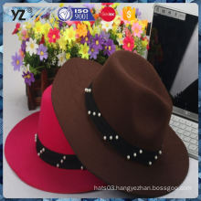 Hot promotion unique design fashionable women hat with good price