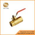 Long Handle Globe Valve Brass Ball Valve