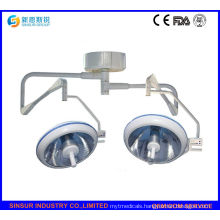 Buy Qualified Shadowless Cold Double Head Halogen Ceiling Operating Lamp